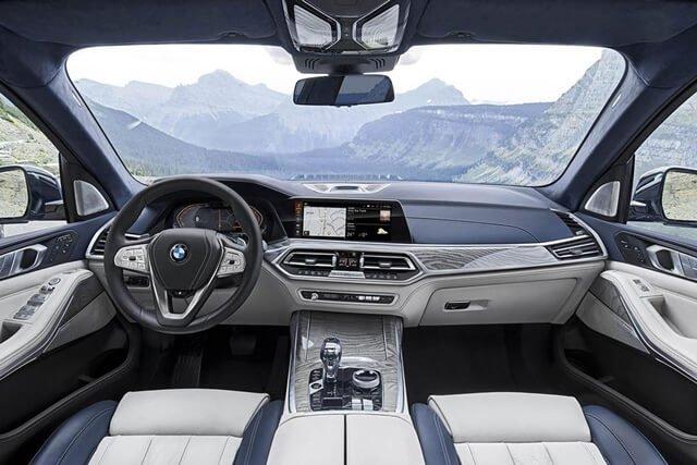 Không gian nội thất thất BMW X7