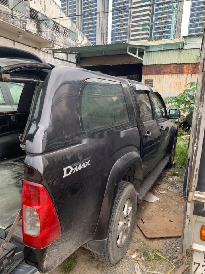 Bán xe Isuzu Dmax đời 2009, màu đen, xe nhập chính hãng (4)