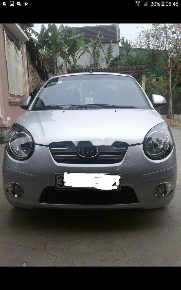 Cần bán lại xe Kia Morning đời 2010, màu bạc, xe còn mới   (2)