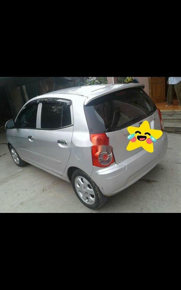 Cần bán lại xe Kia Morning đời 2010, màu bạc, xe còn mới   (1)