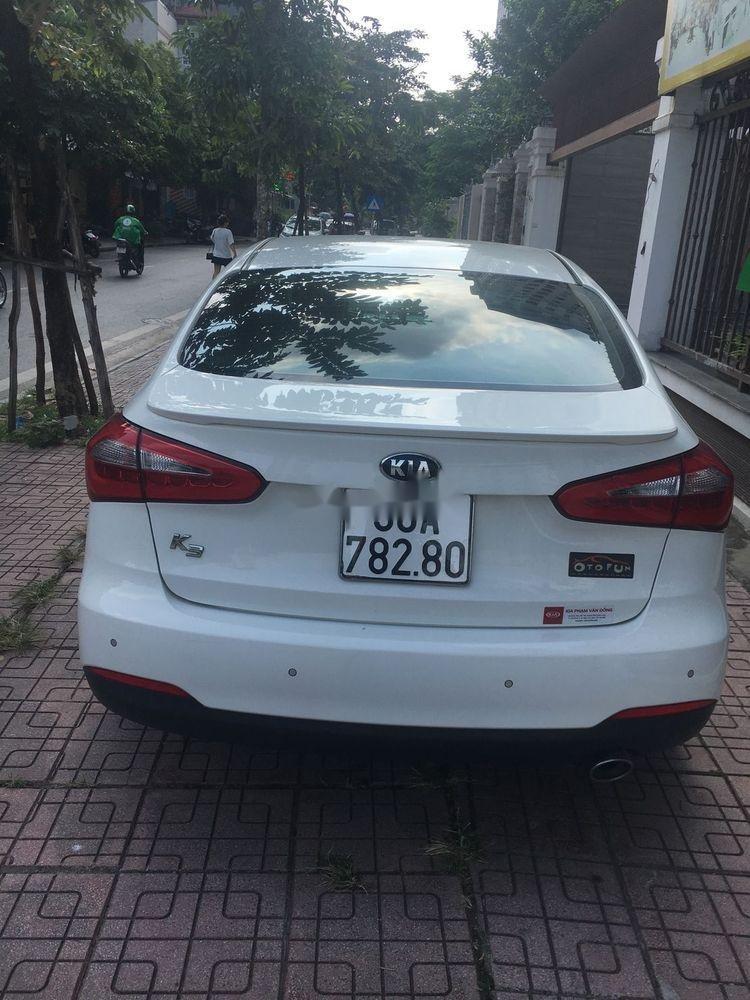 Bán Kia K3 1.6AT 2015 màu trắng, số tự động, giá tốt (2)