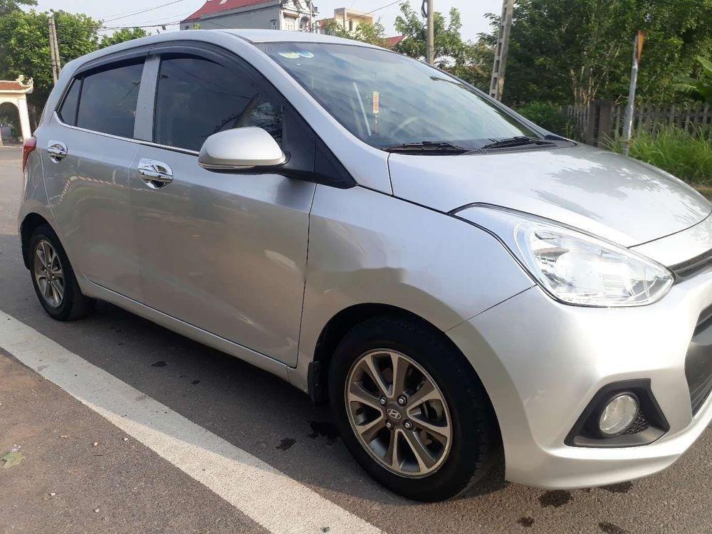 Bán Hyundai Grand i10 năm 2015, màu bạc, xe nhập (1)