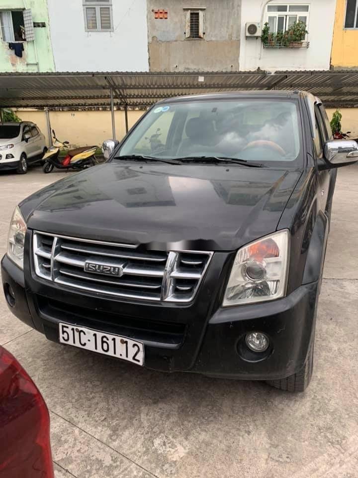 Bán xe Isuzu Dmax đời 2009, màu đen, xe nhập chính hãng (1)