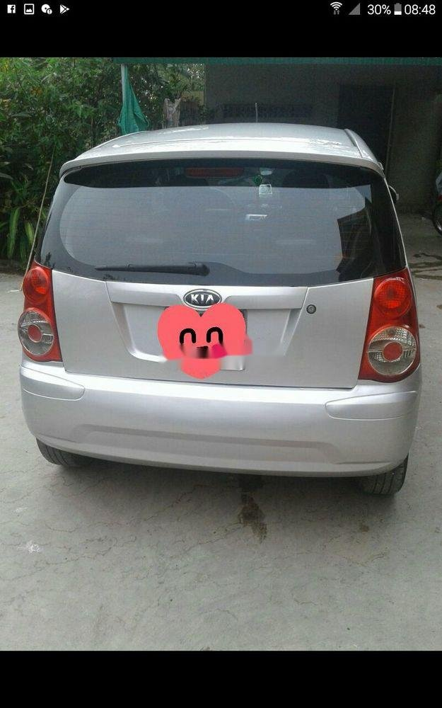 Cần bán lại xe Kia Morning đời 2010, màu bạc, xe còn mới   (3)