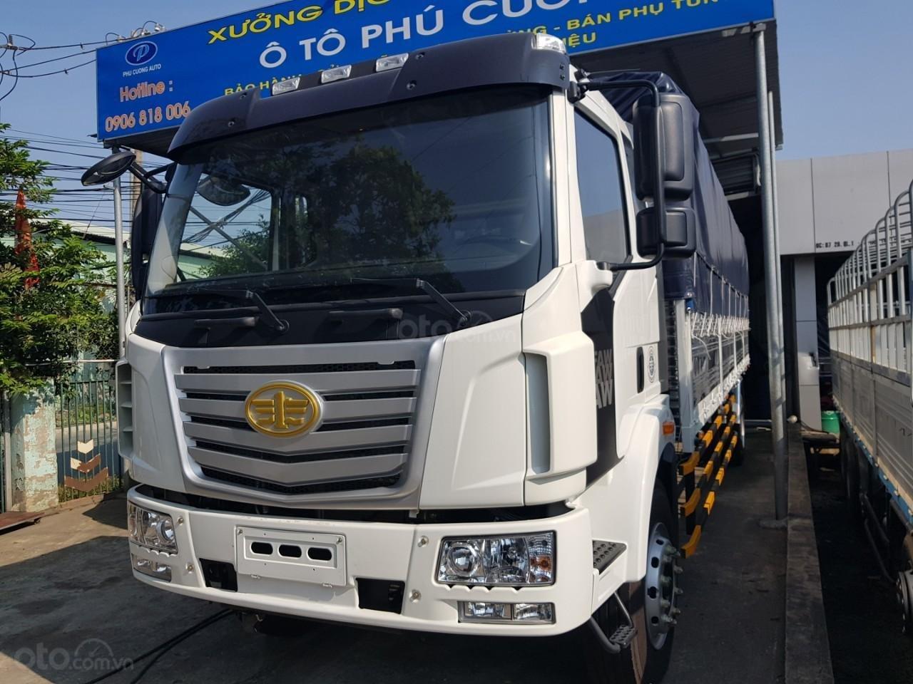 Bán xe tải FAW nhập 8T thùng 9m7 2019 - trả trước 250tr - xe có sẵn (1)