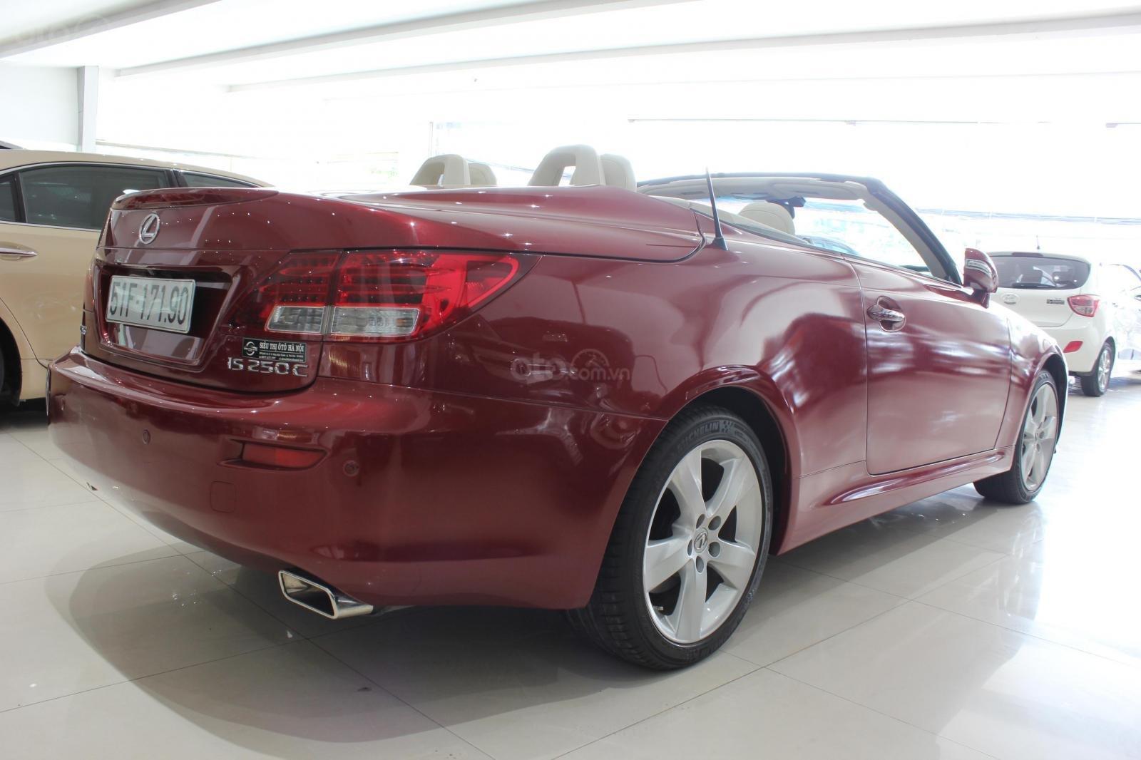 Bán Lexus IS 250 sx 2010, màu đỏ, xe nhập (4)
