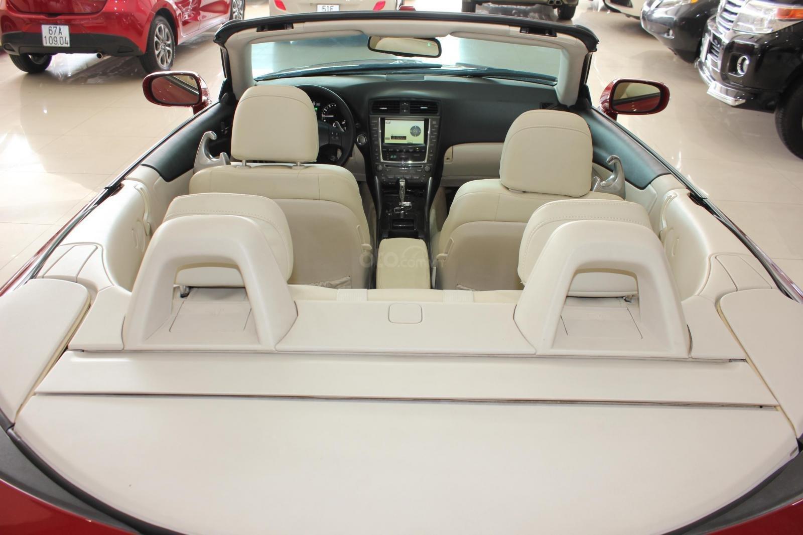 Bán Lexus IS 250 sx 2010, màu đỏ, xe nhập (16)