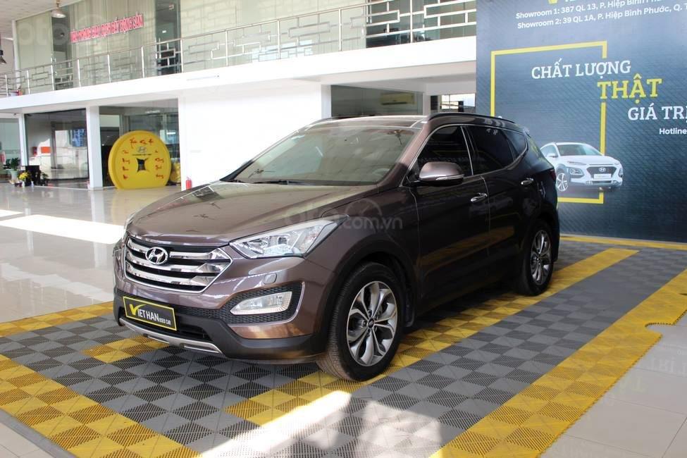Hyundai SantaFe 2.4AT 4WD 2014, quả là chất, mua chạy vô tư có bảo hành (1)