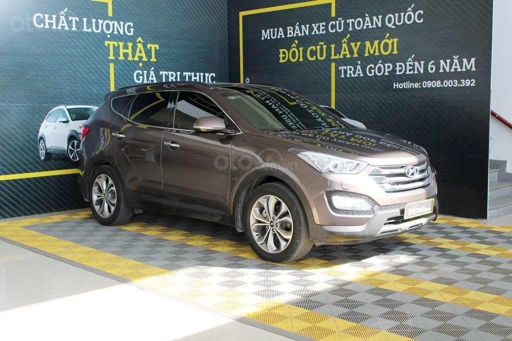 Hyundai SantaFe 2.4AT 4WD 2014, quả là chất, mua chạy vô tư có bảo hành (2)