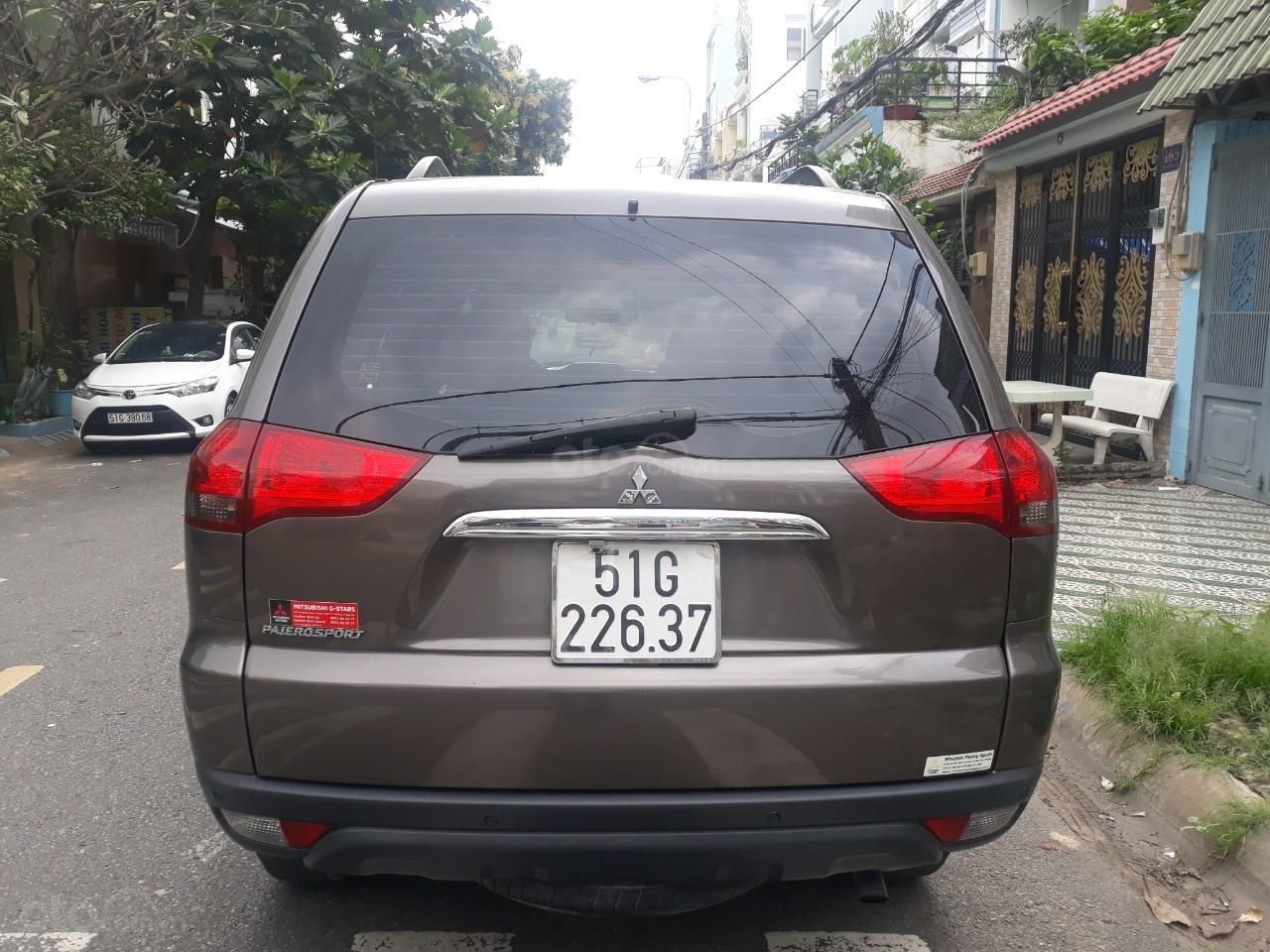 Bán Mitsubishi Pajero Sport 2.5MT màu nâu, máy dầu, sản xuất 2016 biển Sài Gòn (9)