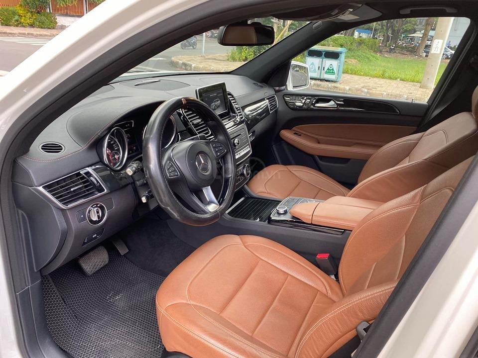 Bán Xe Mercedes GLS400 4MATIC trắng 2017, trả trước 1 tỷ 400 triệu nhận xe ngay (4)
