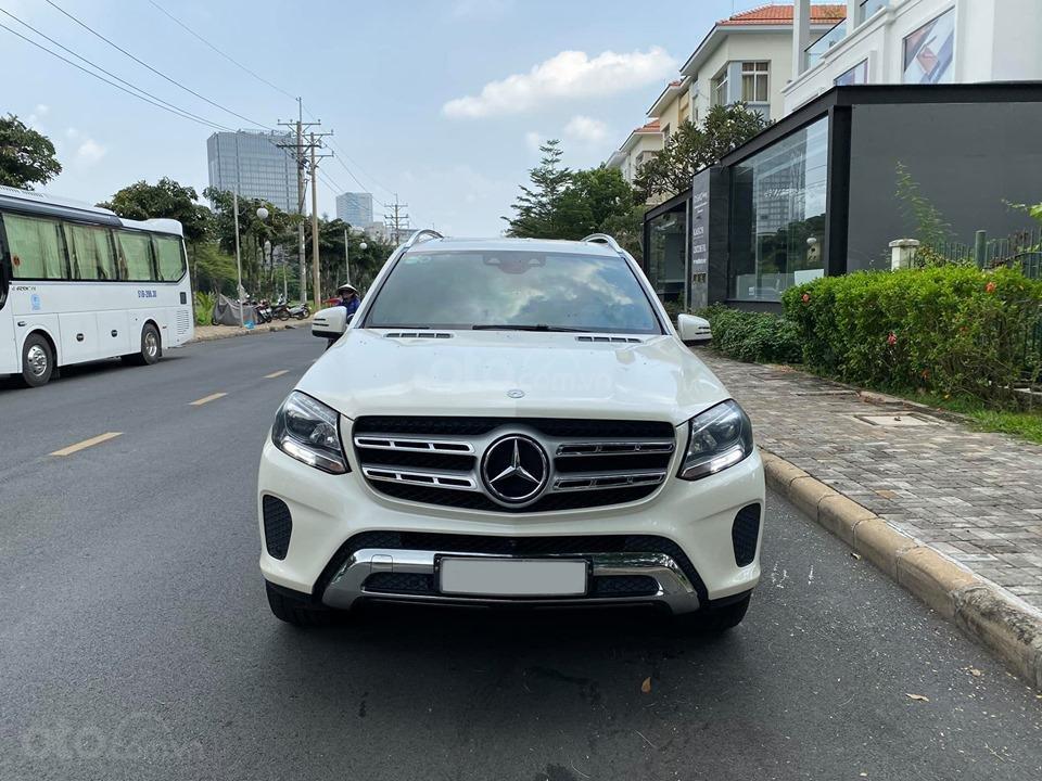 Bán Xe Mercedes GLS400 4MATIC trắng 2017, trả trước 1 tỷ 400 triệu nhận xe ngay (5)