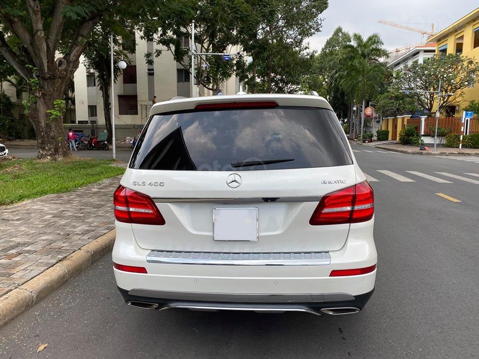 Bán Xe Mercedes GLS400 4MATIC trắng 2017, trả trước 1 tỷ 400 triệu nhận xe ngay (8)