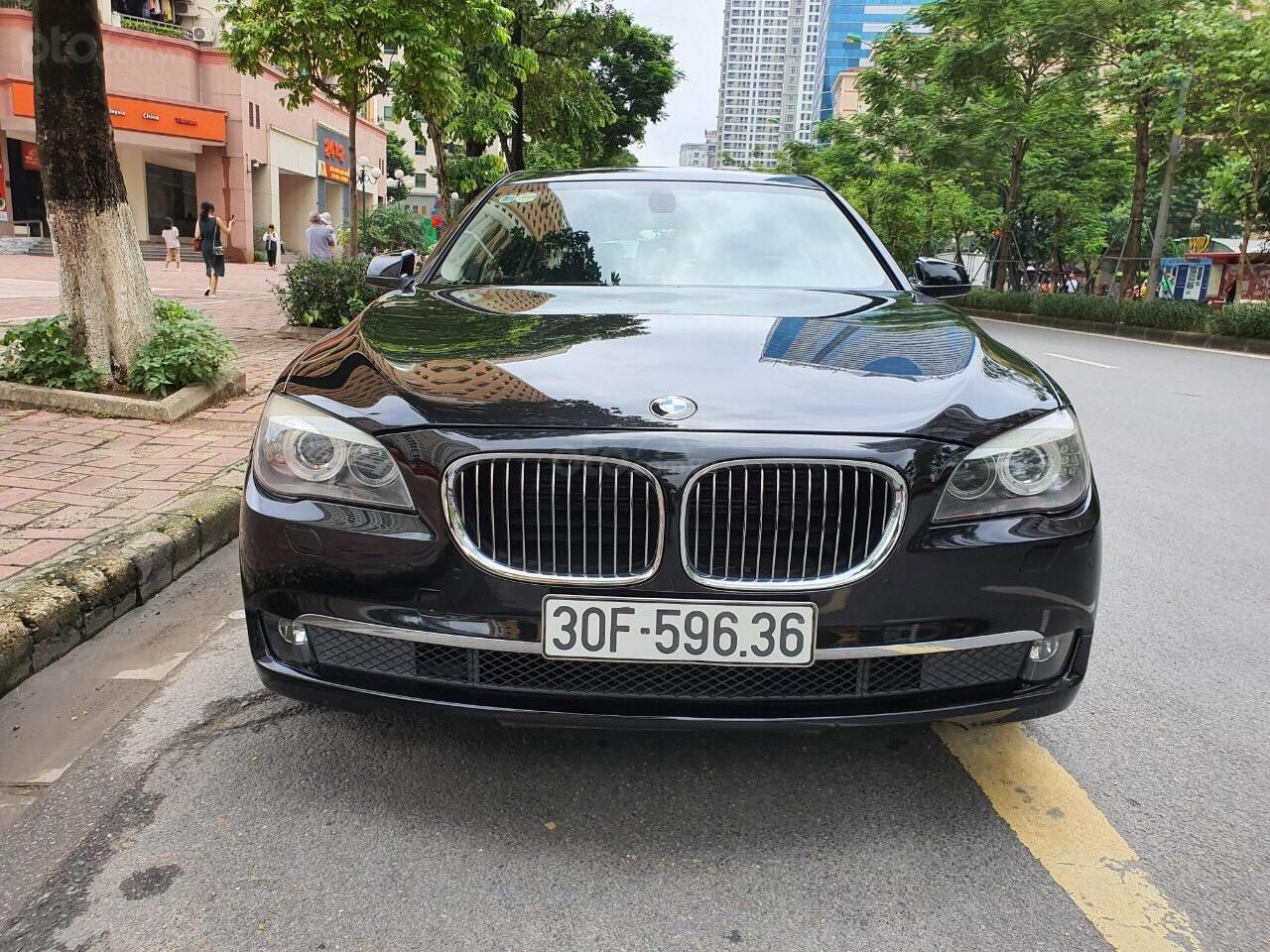 Xe BMW 7 Series 730 Li đời 2012, màu đen, xe nhập (2)