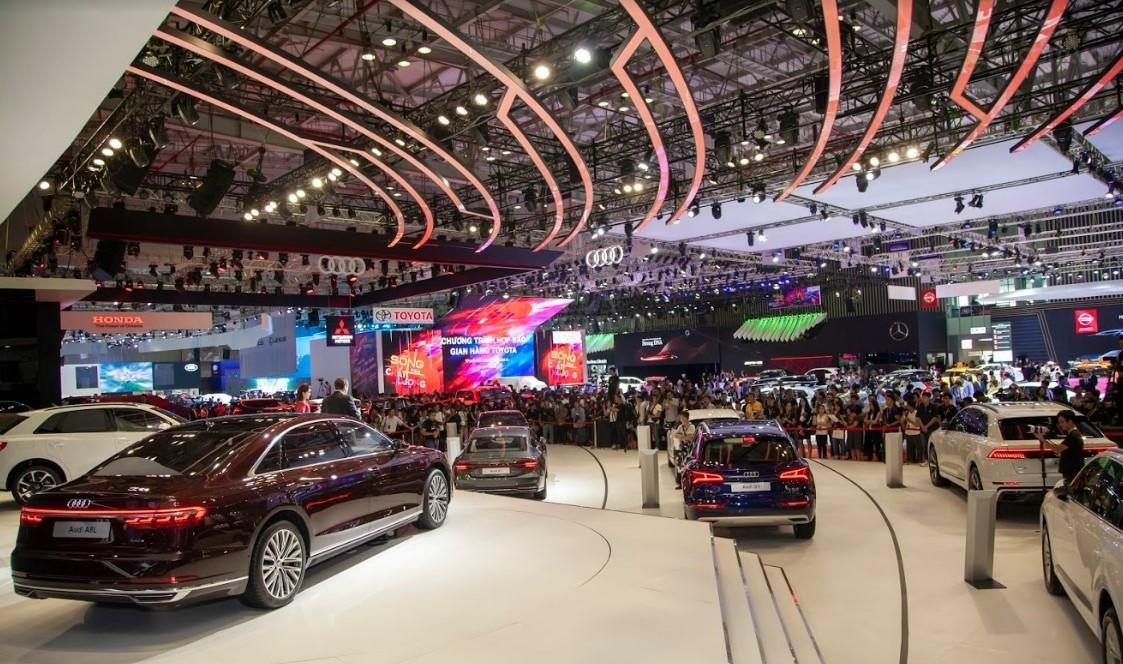 [VMS 2019] Toàn cảnh gian hàng Audi tại VMS 2019.