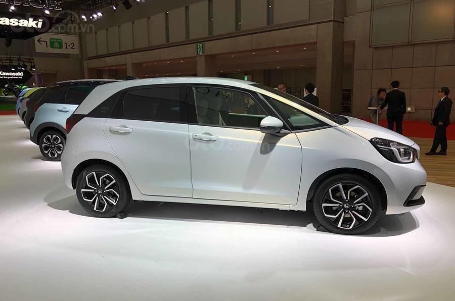 [TMS 2019] Honda Jazz 2020 / Honda Fit 2020 có bản Hybrid