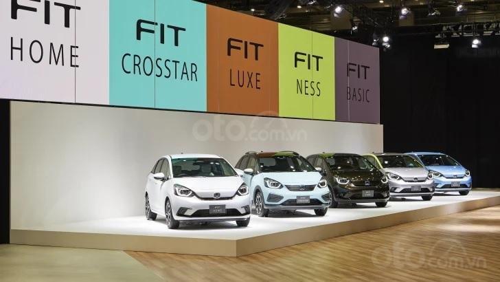 [TMS 2019] Honda Jazz 2020 / Honda Fit 2020 đa dạng biến thể