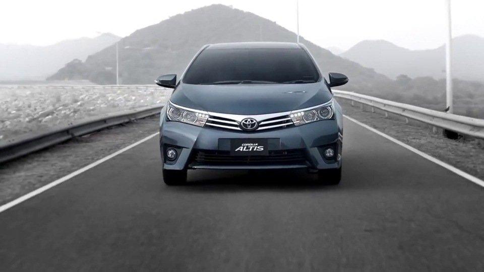 Thiết kế Toyota Altis 2018 vô cùng trẻ trung