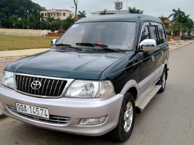 Màu xanh đen (xanh vỏ dưa) đặc trưng trên Toyota Zace