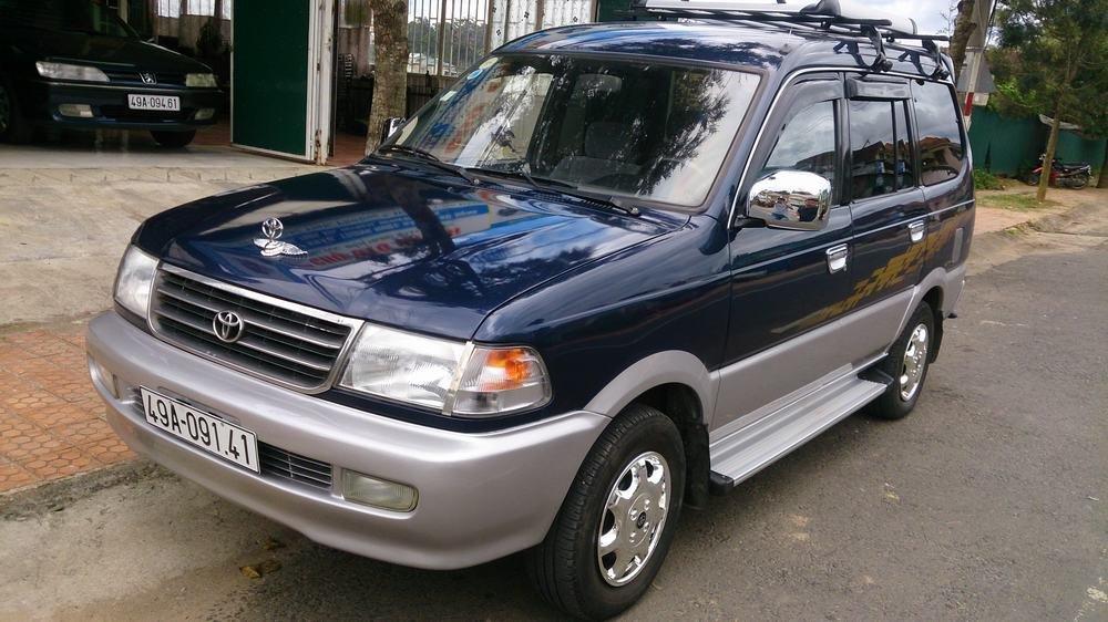 Toyota Zace dù có tuổi đời khá lâu nhưng rất được yêu thích tại Việt Nam