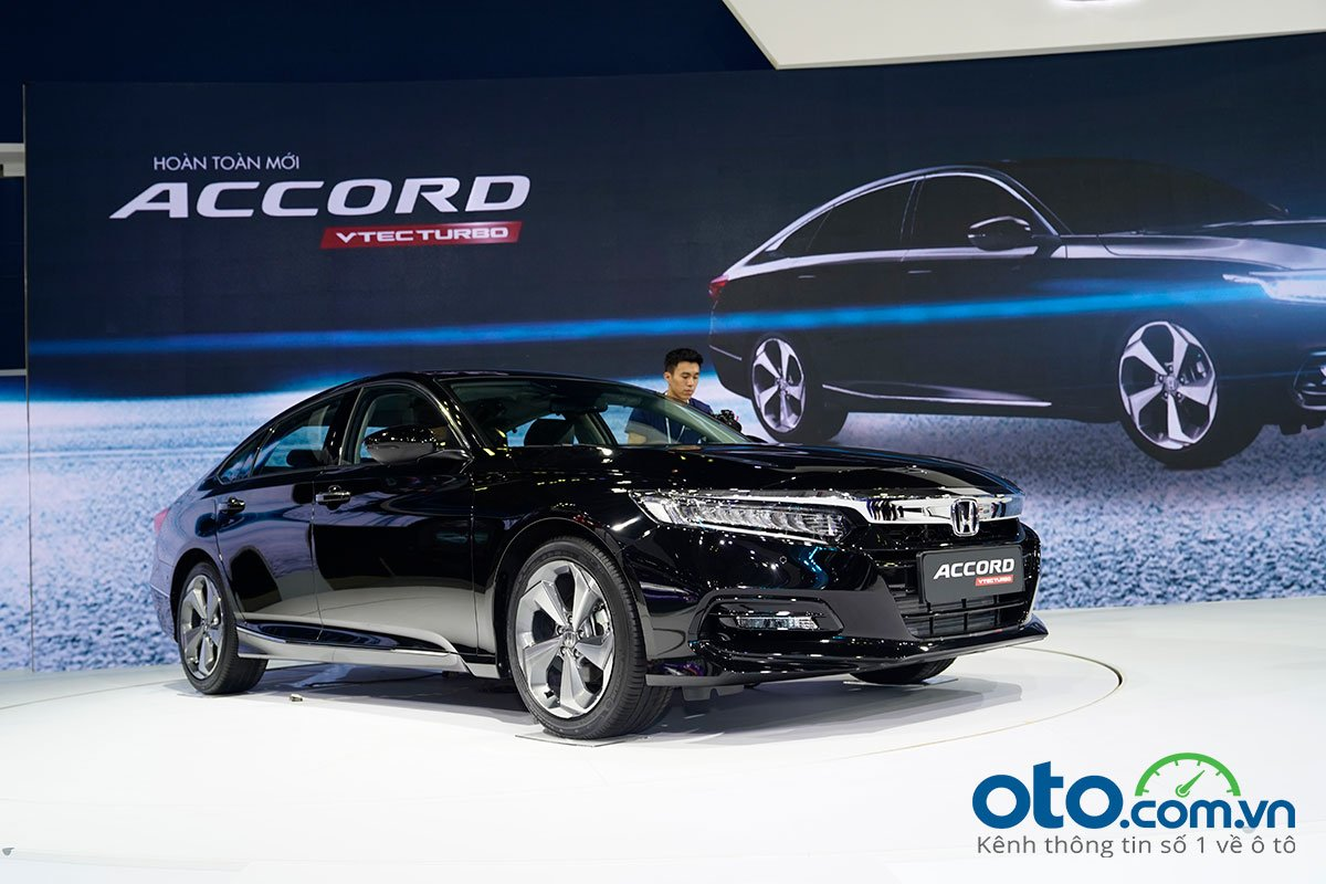 Honda Accord 2020 tại Triển lãm Ô tô Việt Nam 2020.