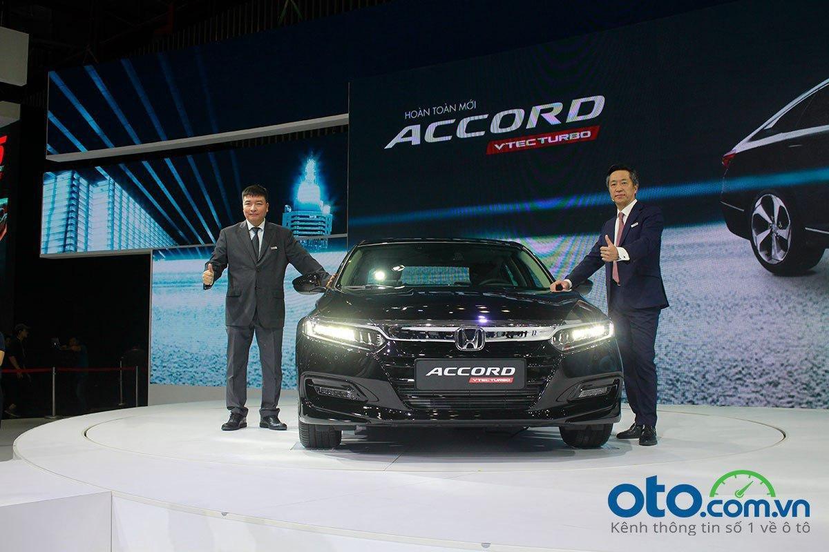 Honda Accord 2020 ra mắt tại Triển lãm Ô tô Việt Nam 2019.