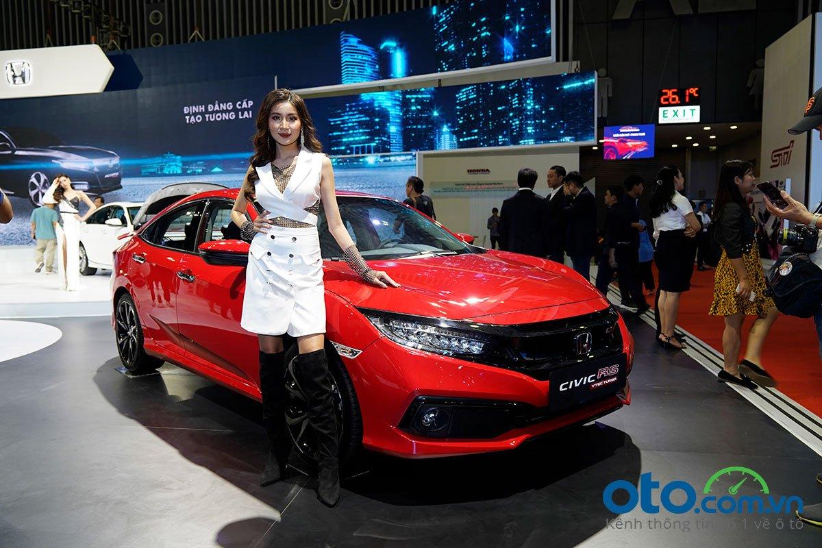 Honda Civic RS ra mắt tại VMS 2019,