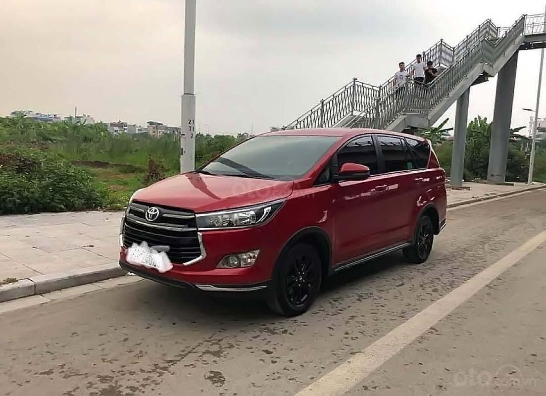 Bán ô tô Toyota Innova đời 2018, màu đỏ, giá cạnh tranh (1)
