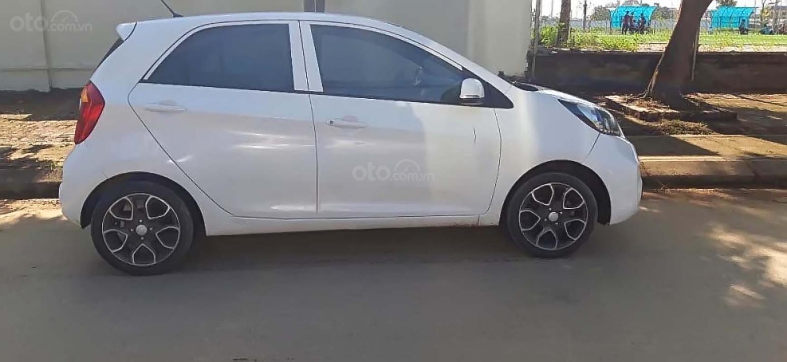 Bán ô tô Kia Morning năm 2014, màu trắng (1)