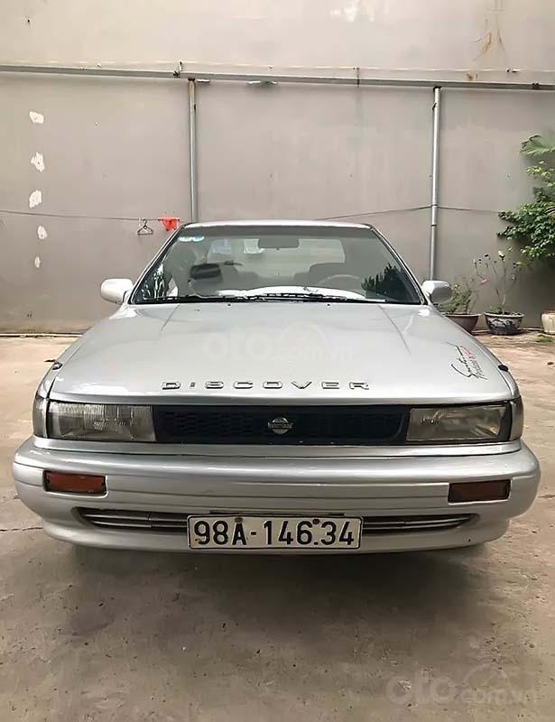 Bán Nissan Bluebird đời 1992, màu bạc, nhập khẩu chính chủ (4)