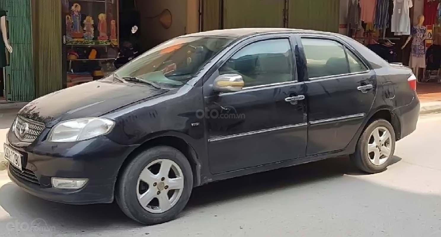 Cần bán lại xe Toyota Vios 2007, màu đen, nhập khẩu nguyên chiếc (1)