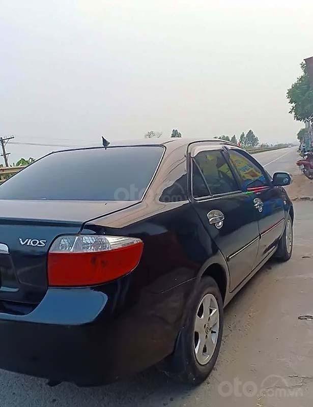 Cần bán lại xe Toyota Vios 2007, màu đen, nhập khẩu nguyên chiếc (4)