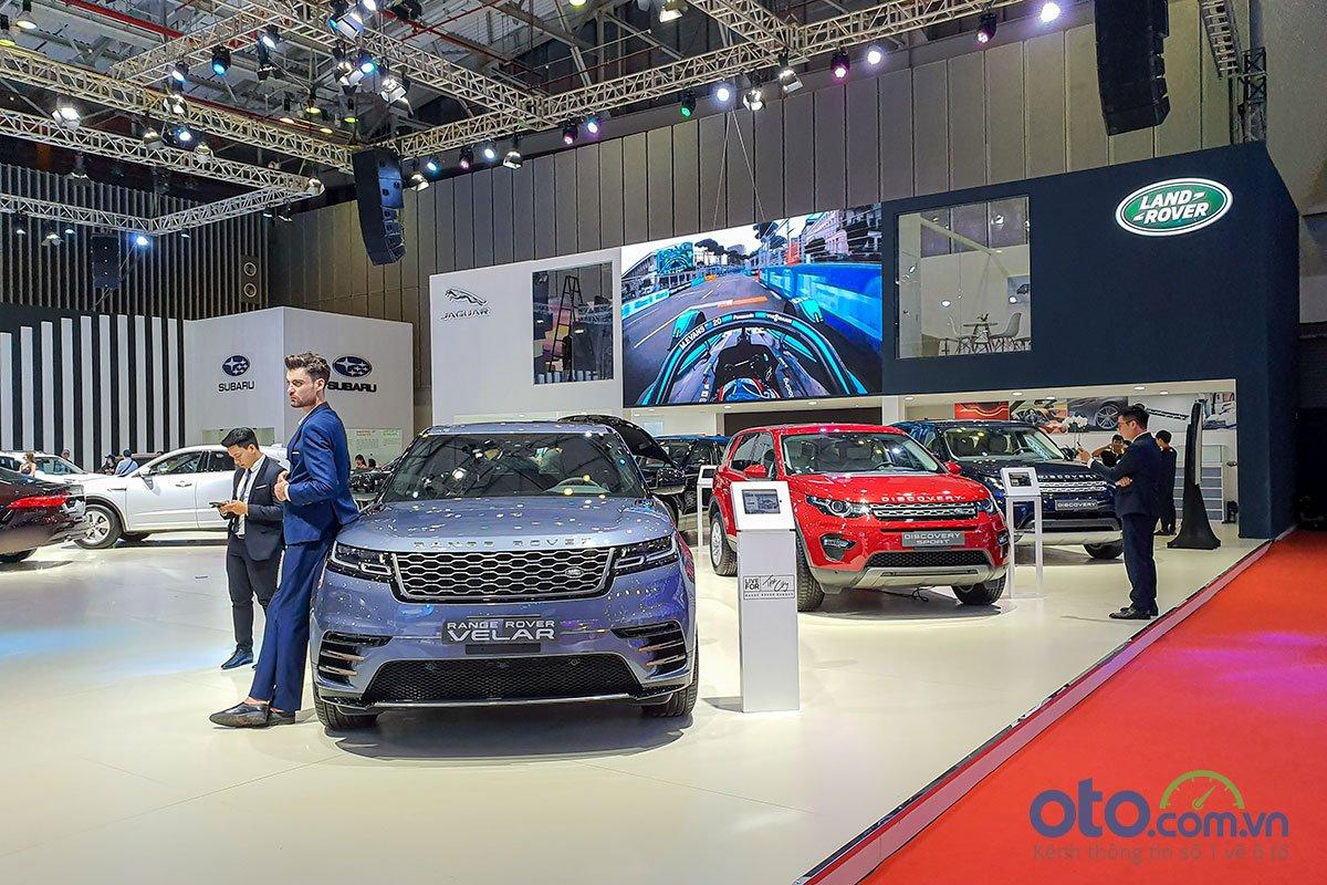 [VMS 2019] Ngắm nhìn thế giới xe thể thao Jaguar Land Rover tại VMS 2019.