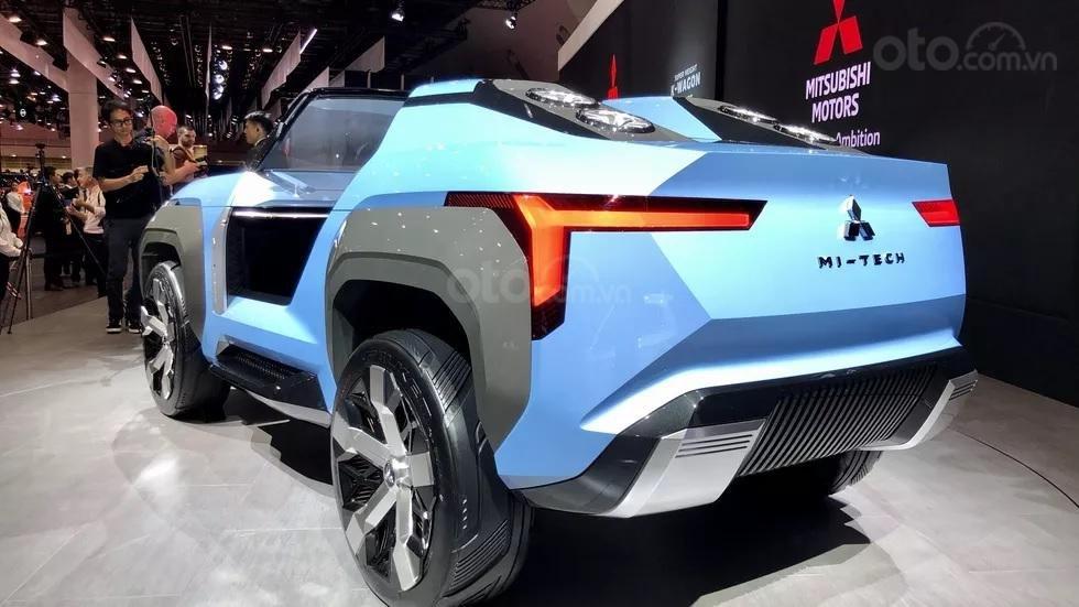 [TMS 2019] Mitsubishi Mi-Tech Concept - Thiết kế cách tân