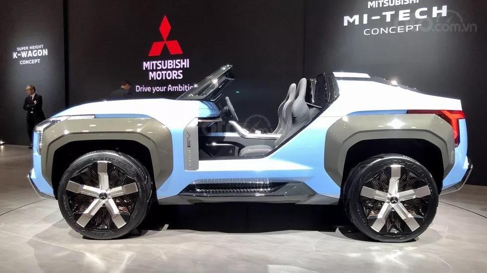 [TMS 2019] Mitsubishi Mi-Tech Concept - Thú vị đầy bất ngờ