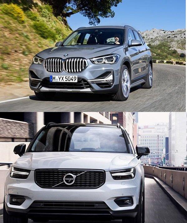 So sánh Volvo XC40 với BMW X1