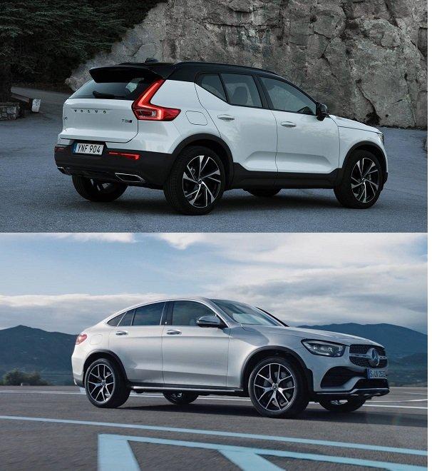 So sánh Volvo XC40 với Mercedes GLC