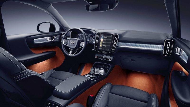 Nội thất xe ô tô Volvo XC40