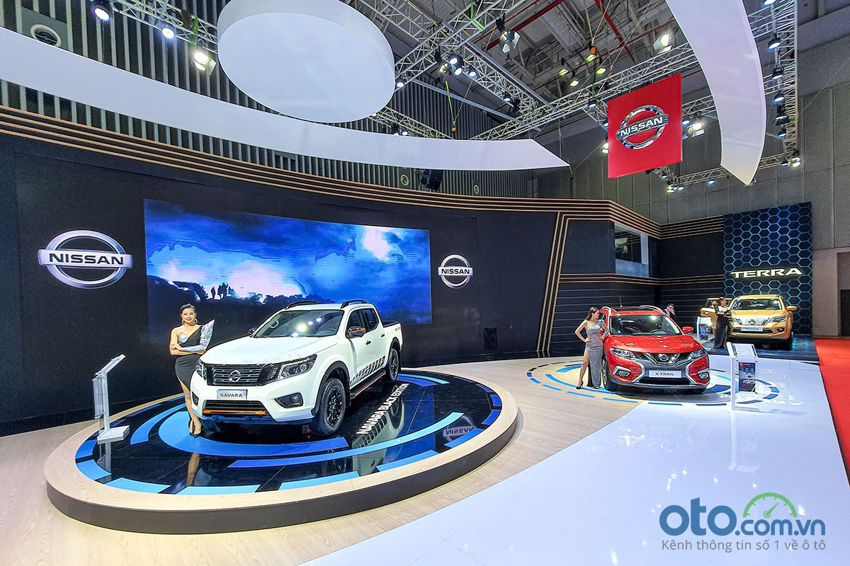 Gian hàng Nissan tại triển lãm VMS 2019.