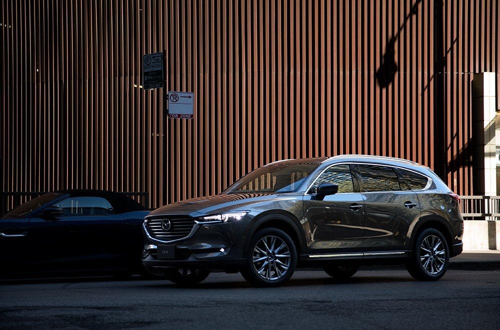 Mazda CX-8 2020 ra mắt tại Triển lãm Ô tô Tokyo 2019.