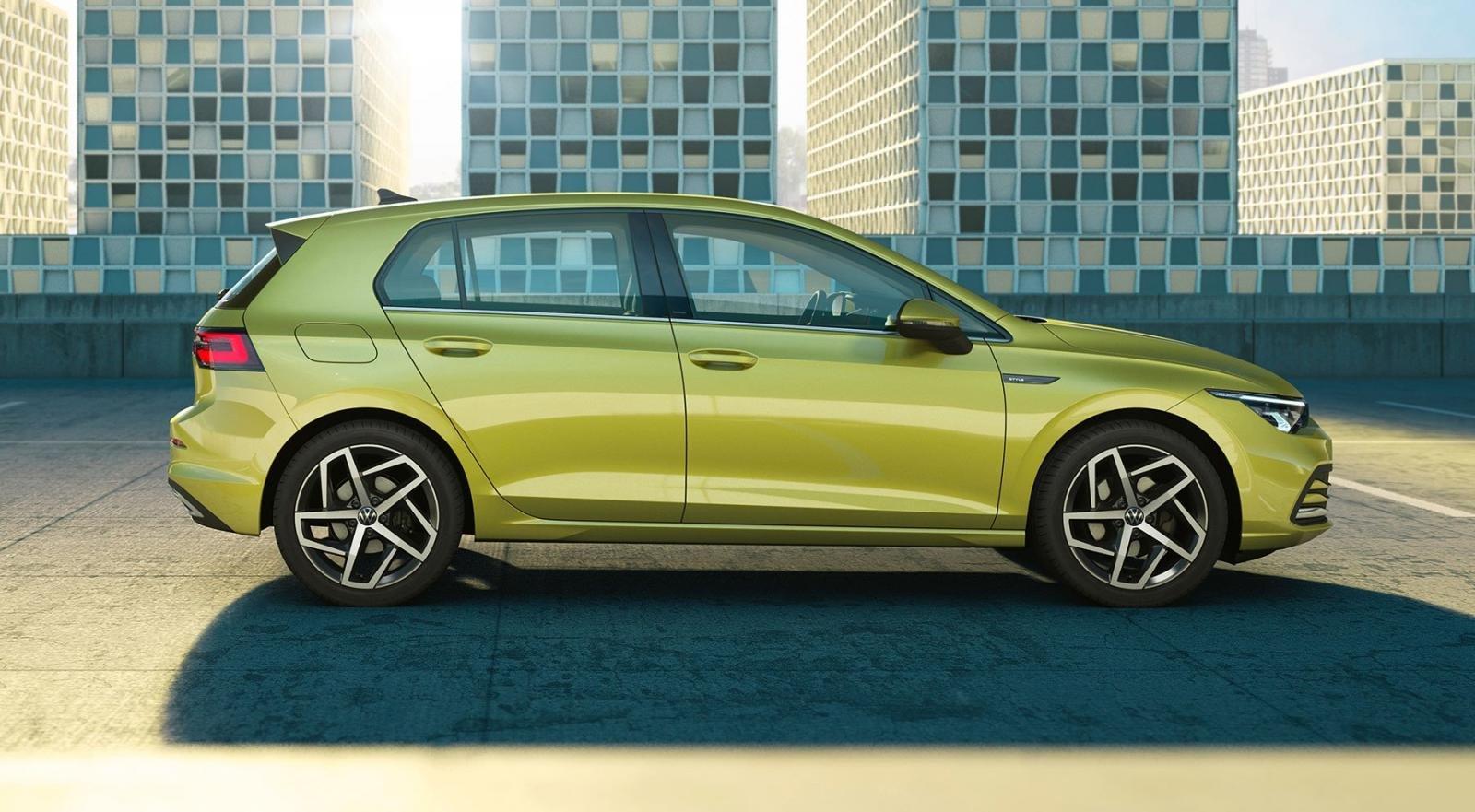 Volkswagen Mk8 Golf 2020 sở hữu ngoại hình dài hơn Golf 7.