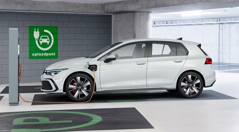 VW Golf GTE plug-in hybrid.