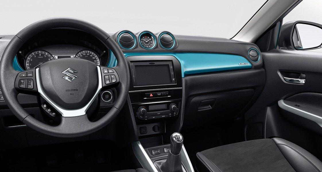 Không gian nội thất Suzuki Vitara