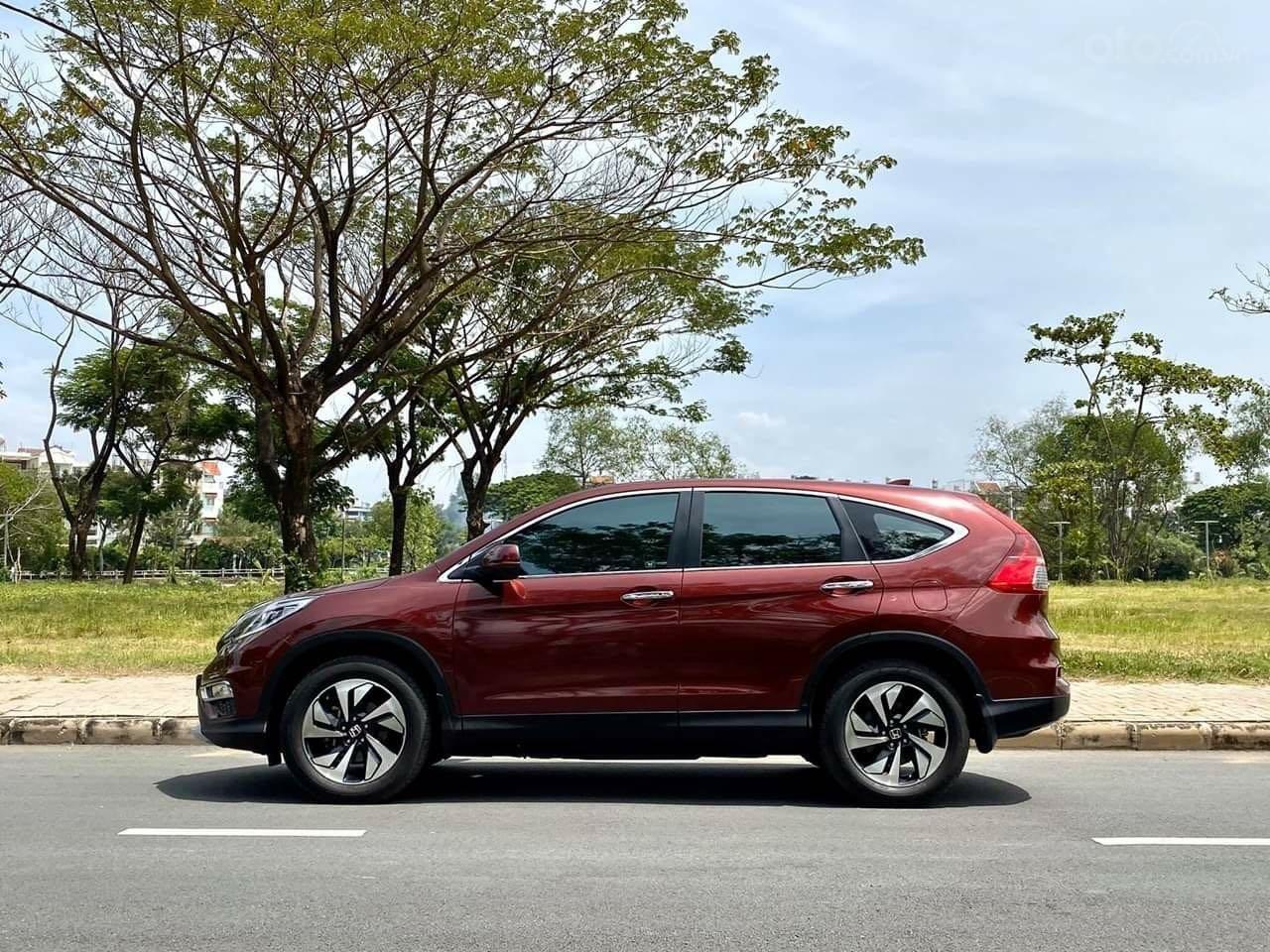 Bán ô tô Honda CR V đăng ký lần đầu 2017, màu nâu chính chủ (4)