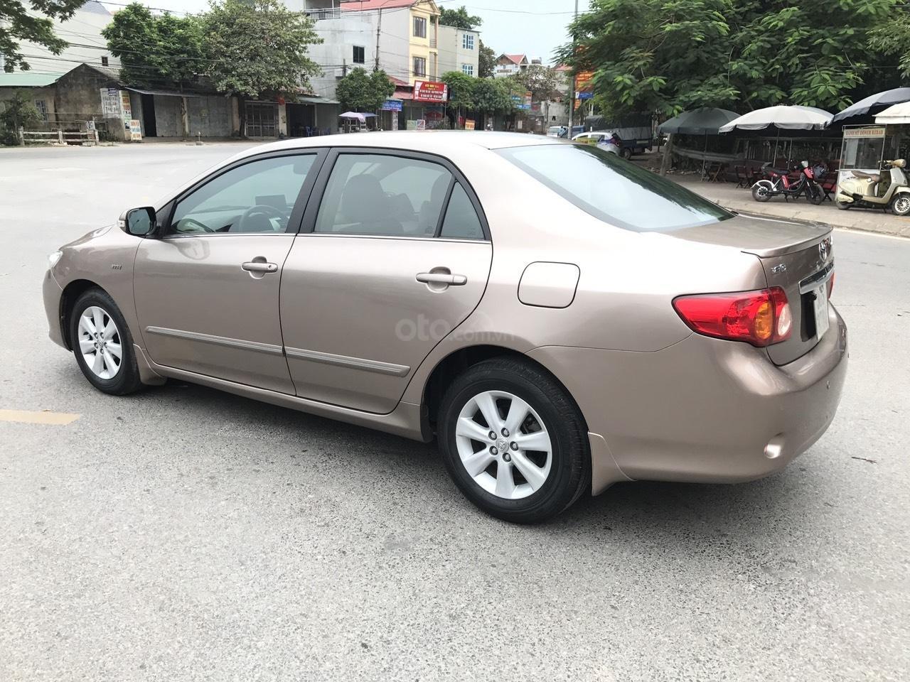 Bán ô tô Toyota Corolla Altis 1.8G năm sản xuất 2009, màu nâu Cafe, 1 chủ biển 4 số mới (3)
