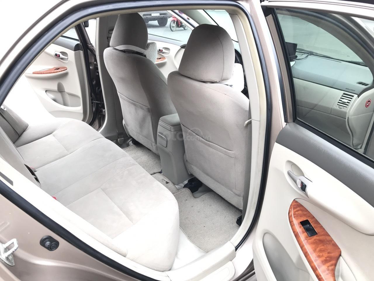 Bán ô tô Toyota Corolla Altis 1.8G năm sản xuất 2009, màu nâu Cafe, 1 chủ biển 4 số mới (21)