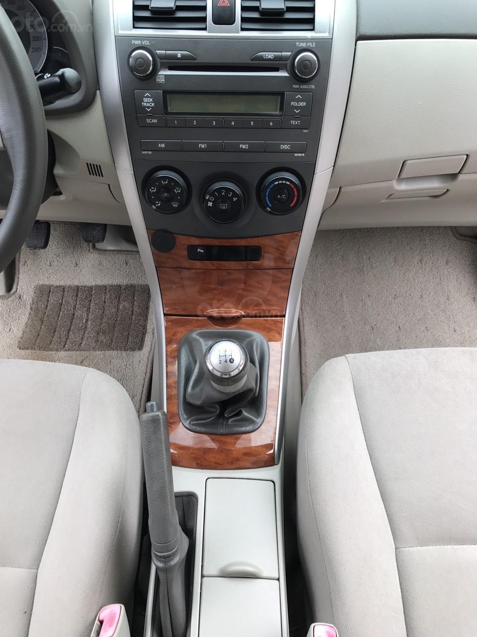 Bán ô tô Toyota Corolla Altis 1.8G năm sản xuất 2009, màu nâu Cafe, 1 chủ biển 4 số mới (20)