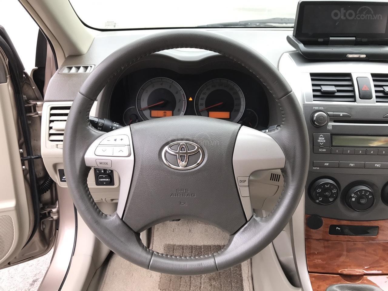 Bán ô tô Toyota Corolla Altis 1.8G năm sản xuất 2009, màu nâu Cafe, 1 chủ biển 4 số mới (6)
