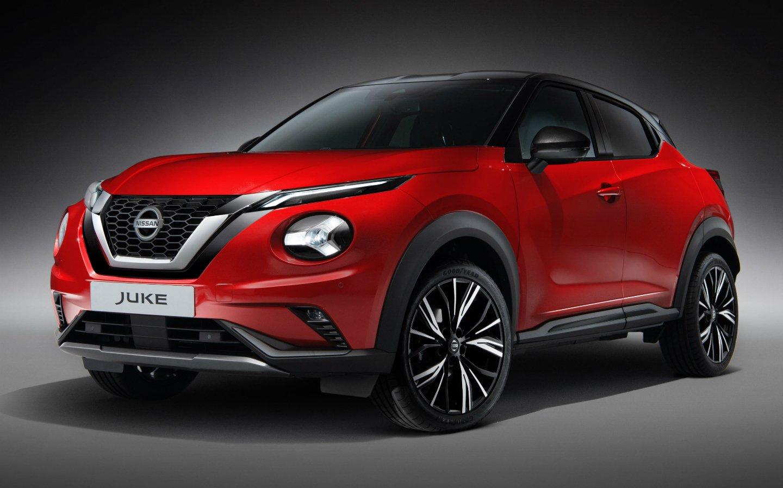 Góc 3/4 Thân xe Nissan Juke 2020