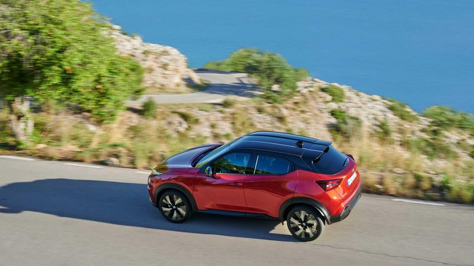 Đánh giá xe Nissan Juke 2020 về trang bị an toàn.